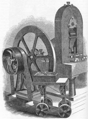 Steam coining press