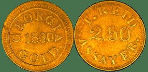 Templeton Reid $2.50, 1830