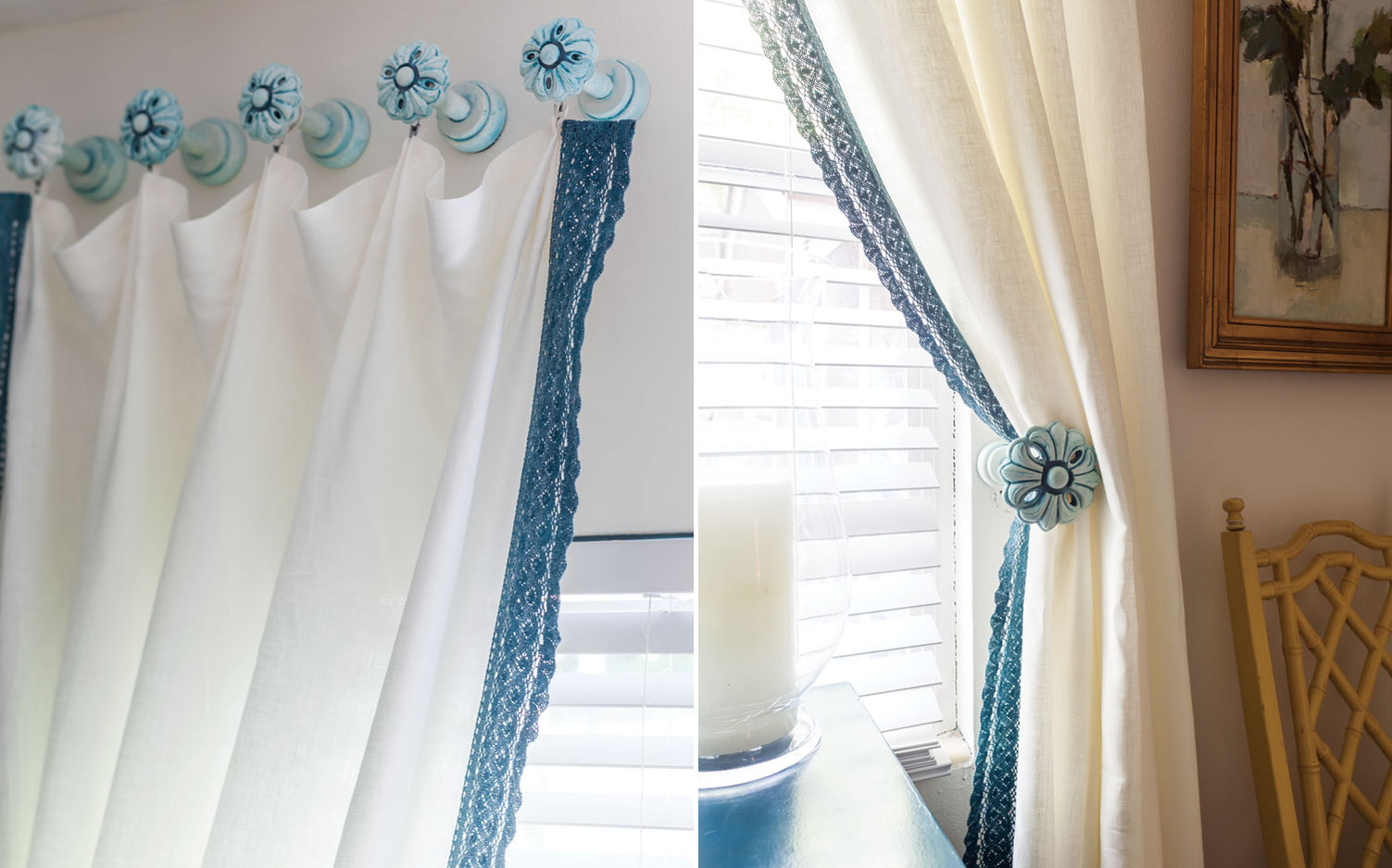 A Fresh Look On Lace Curtains Southern Lady Magazine