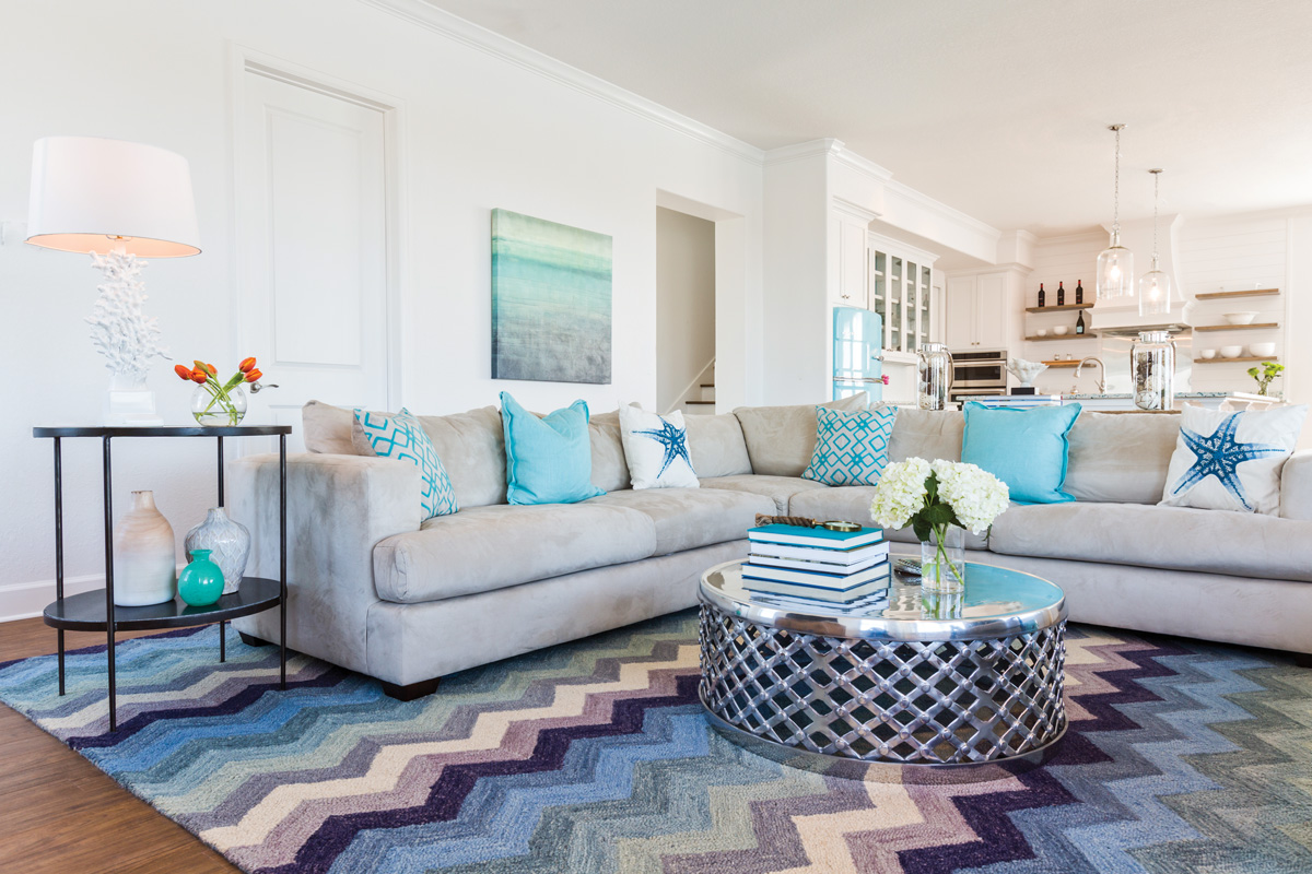 Coastal Current Beach House Style Southern Lady Magazine