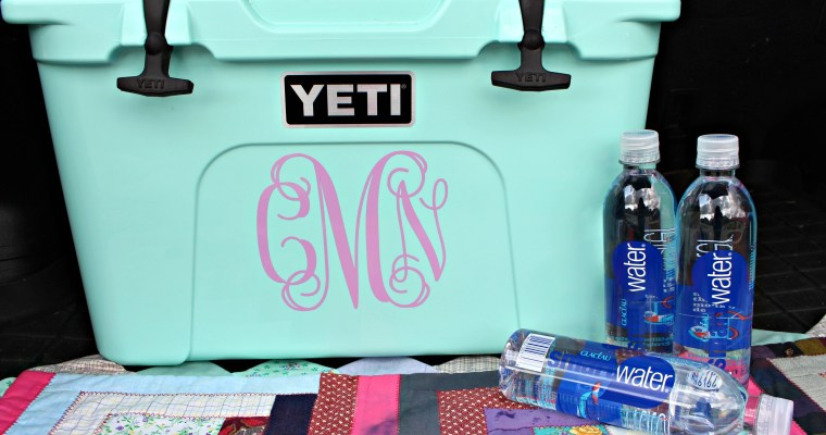 Every Cooler Needs a Monogram! + 5 Miles
