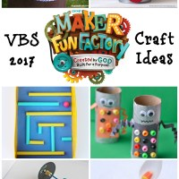 Maker Fun Factory VBS Craft Ideas