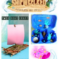 Shipwrecked: Rescued by Jesus VBS Craft Ideas