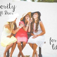 Sorority Big/Little Gift Ideas on a Budget