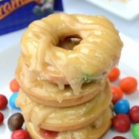 Triple Caramel Candy Doughnuts