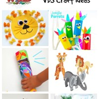 In The Wild VBS Craft Ideas