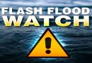 Flash Flood Watch in Effect Through This Evening in Southern Maryland, Several Other Counties