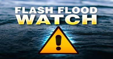 Flash Flood Watch Issued For Southern Maryland Starting Wednesday Afternoon