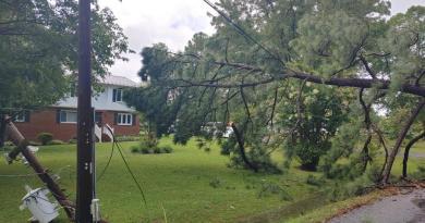 Tropical Storm Yard Debris Burn Site in Great Mills to Close