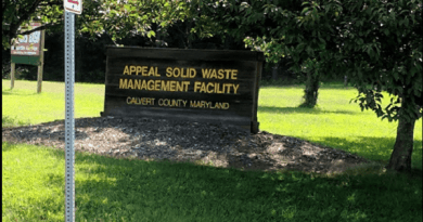 Calvert Offers Tropical Storm Isaias Debris Drop Off For Residents