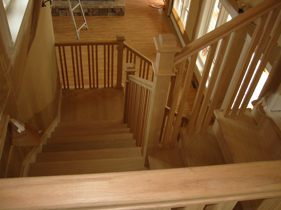 Stair Gallery Heritage Stairs | Mission Style Hand Railings | Indoor | Bungalow | Front Porch | Art Craft | Hand