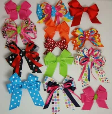 beefstew and hair bows 081. I've always loved hairbows, really big ones!