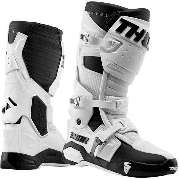 Thor Radial Boot White Pair