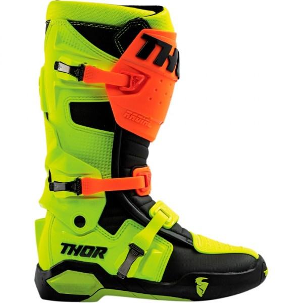 Thor Radial Flo Orange-Yellow Side View