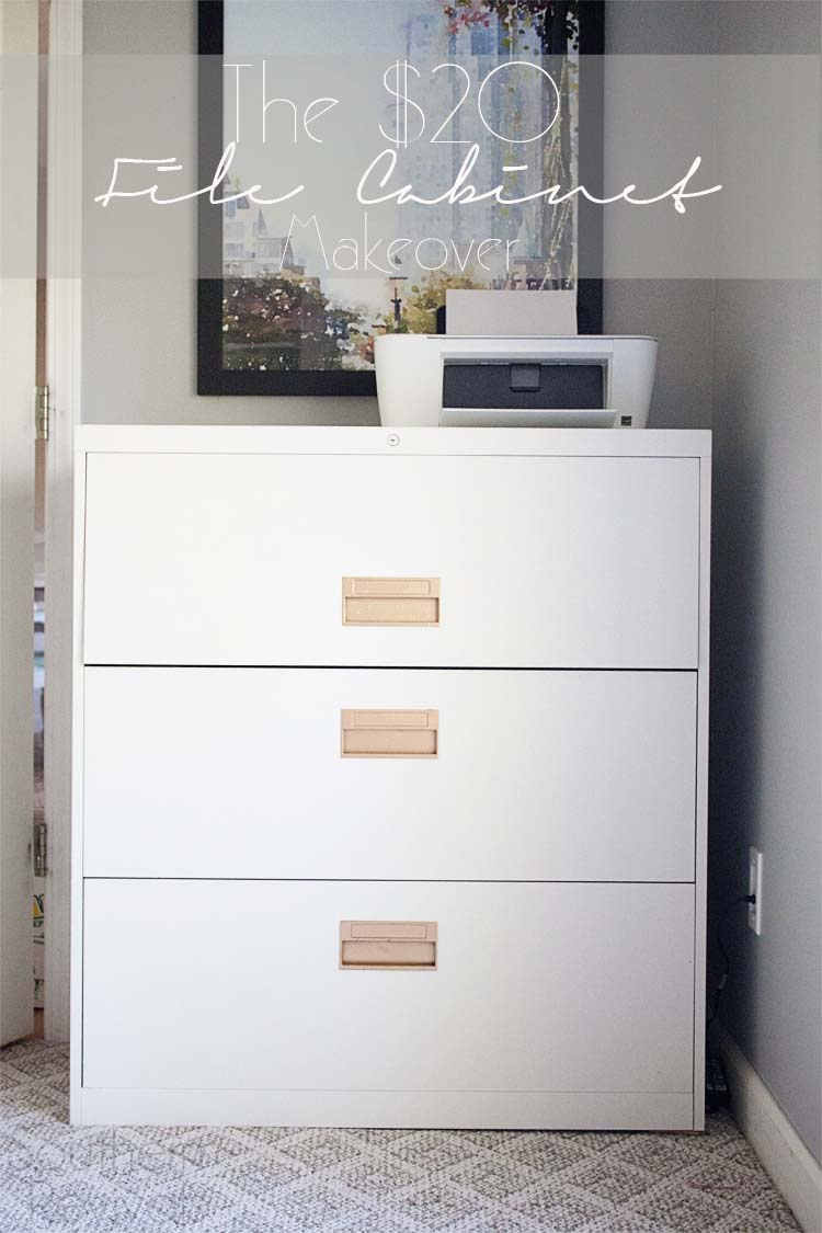 The 20 File Cabinet Makeover Southern Revivals