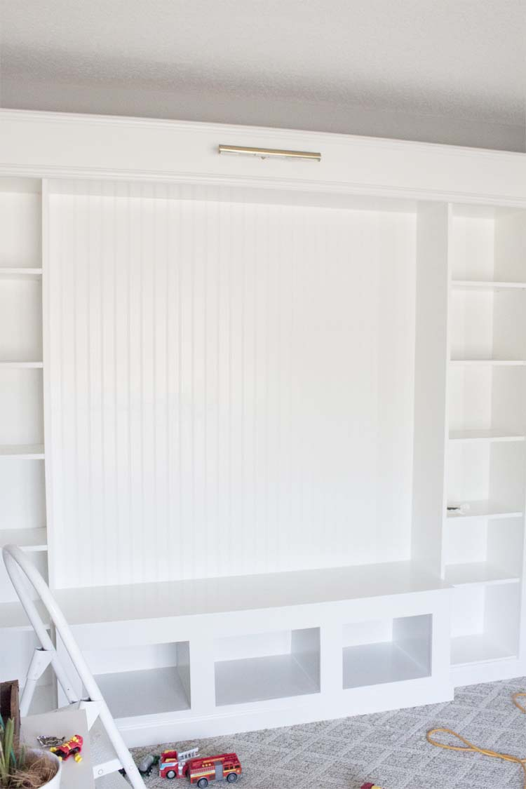 Bookcase With Doors Ikea You Will Need Four Billy Bookcases