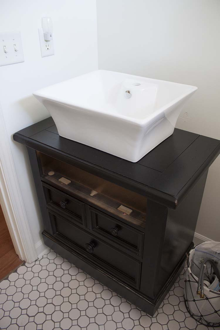 how to turn an old nightstand into a