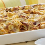 Easter Brunch Idea: Cheesy Bacon & Egg Casserole