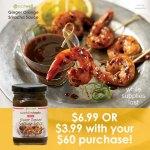 Ginger Orange Sriracha Sauce Promotion