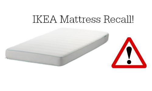 The Vyssa Spelevink Crib Mattresses Are Being Recalled Because They Fail To Meet Federal Open Flame Standard For And Pose A Fire Hazard