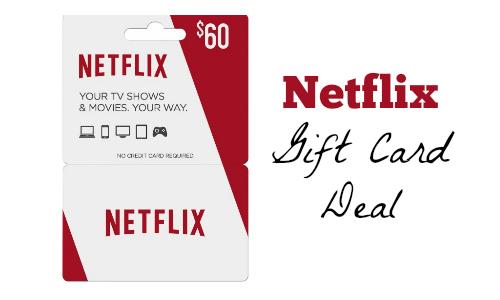 Netflix Gift Card Deal Southern Savers
