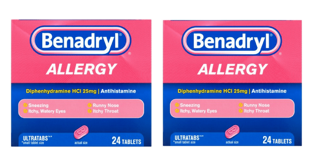 ... allergy relief, this week at Publix you can get Benadryl allergy
