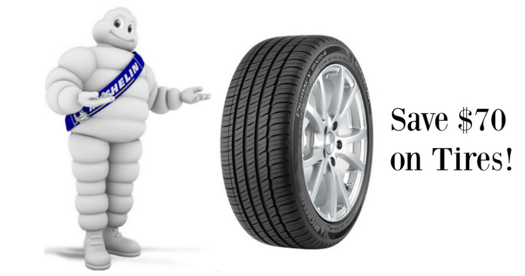 70 Off Michelin Tires   1     Installation    Southern Savers They are offering  70 off any set of four Michelin Tires plus 1      installation per tire  The installation alone is a savings of  59 96 so  don t miss out