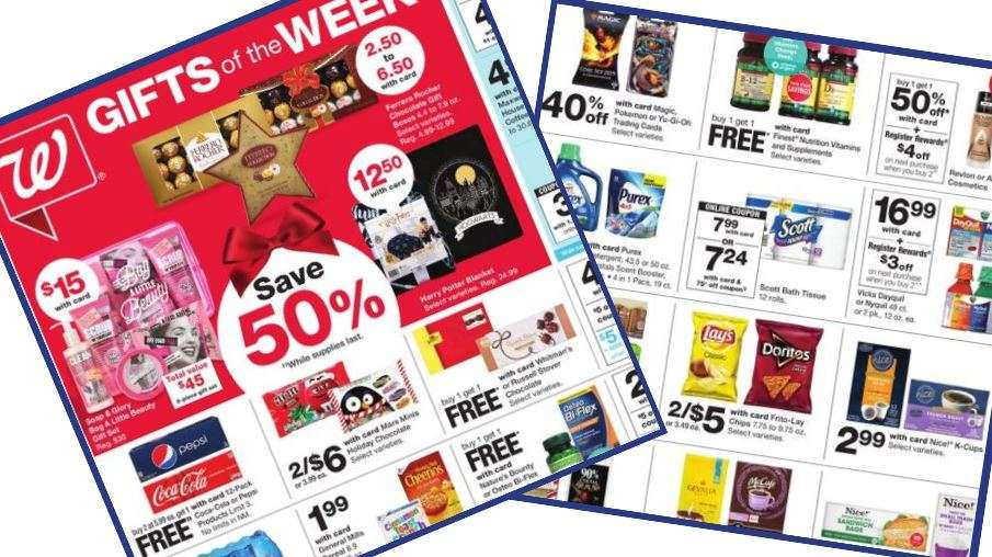 Walgreens Ad Coupons 11 10 11 16 Southern Savers