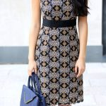 black and gold and blue dress