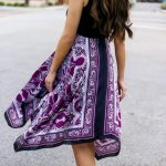 Gorgeous Scarf Print Dress