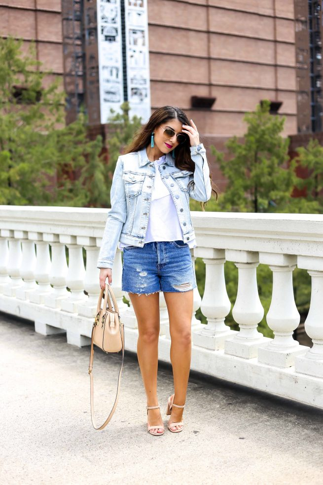 Denim Jacket Dressed Up