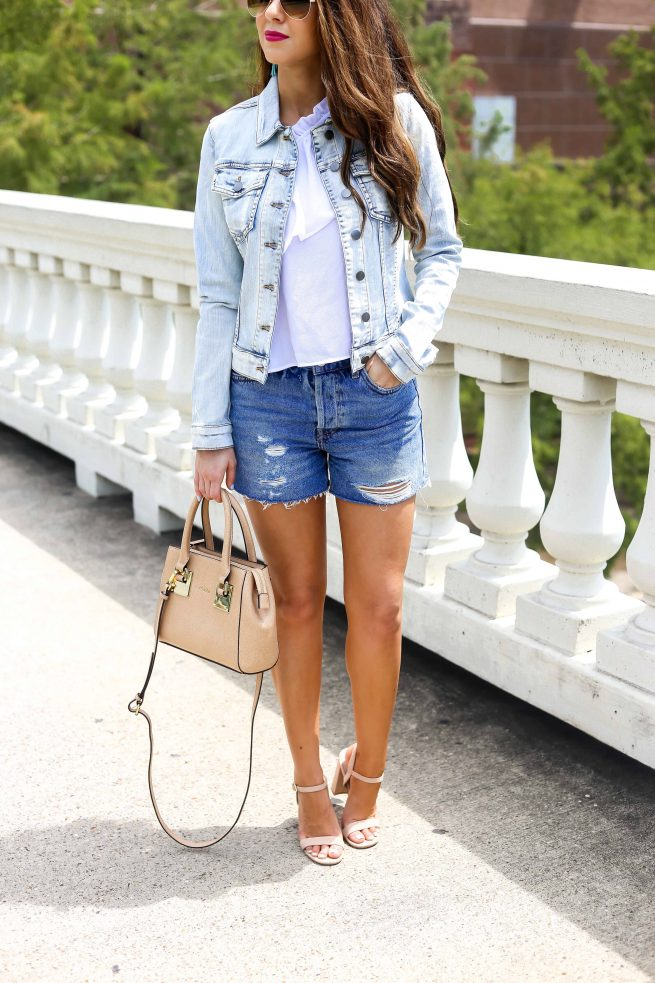 Denim on Denim Style Dressed Up.