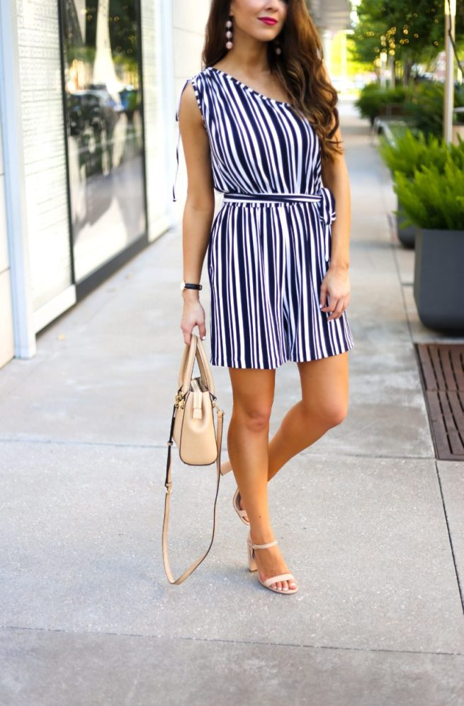 Perfect Length Stripe Romper