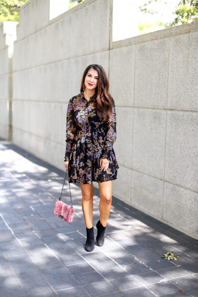 Bohemian Dress for Fall