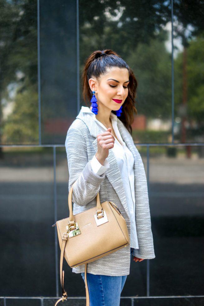 Classsic Grey Blazer