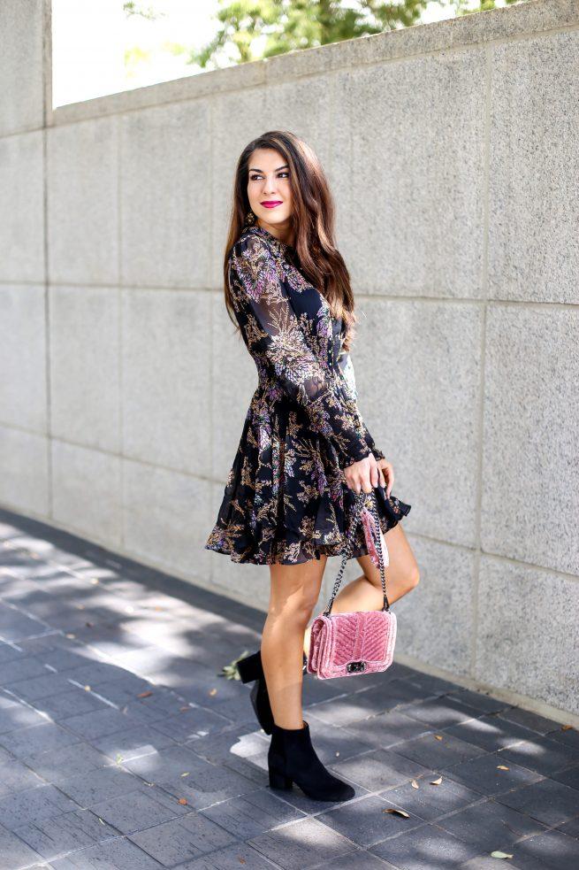 Fall Bohemian Dress