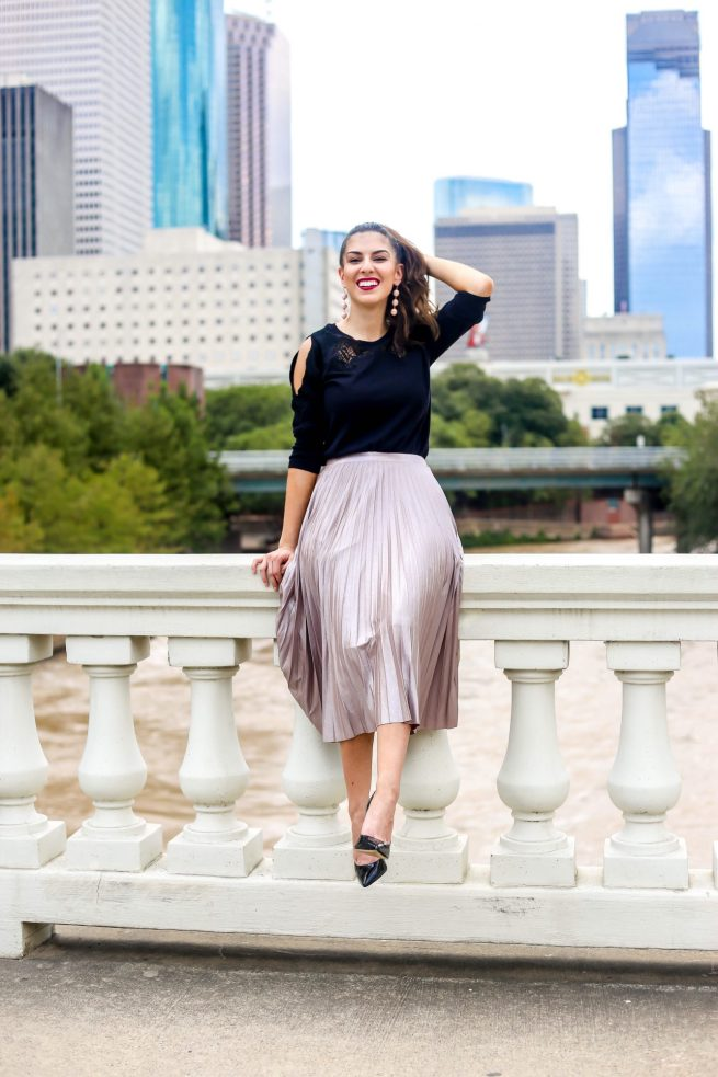 Pleated Skirt for All Year Long
