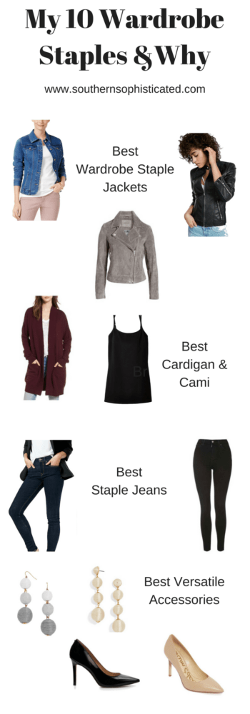 My 10 Wardrobe Staples and Why - Capsule Wardrobe