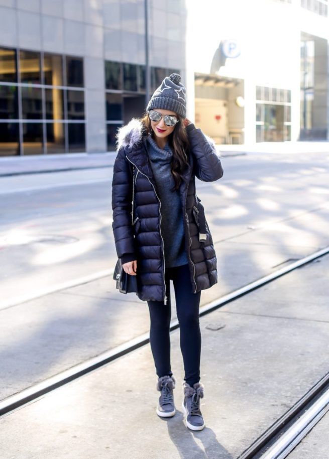 Athletic Casual Winter Look