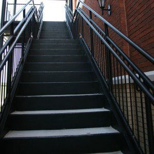 Typical Exterior Steel Stair