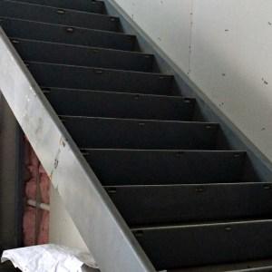 HSS Stringers at Monumental Stair
