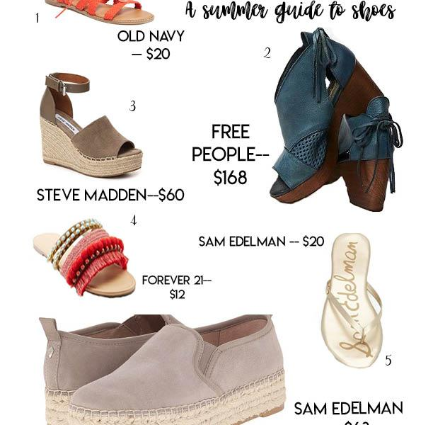 Best sandals for the summer
