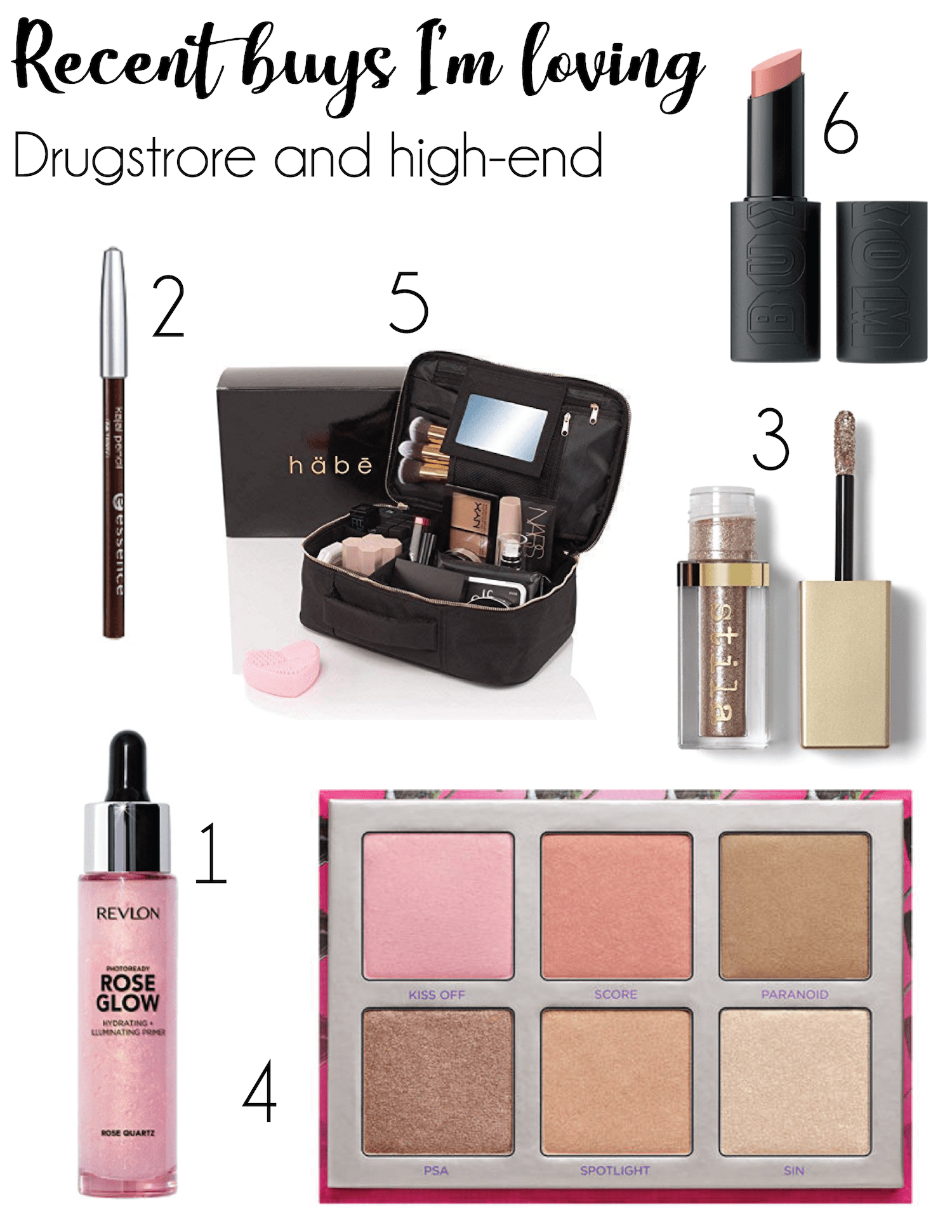 Recent makeup purchases I'm loving