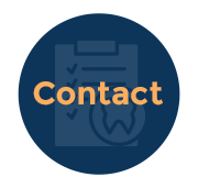 contact icon blue - Home