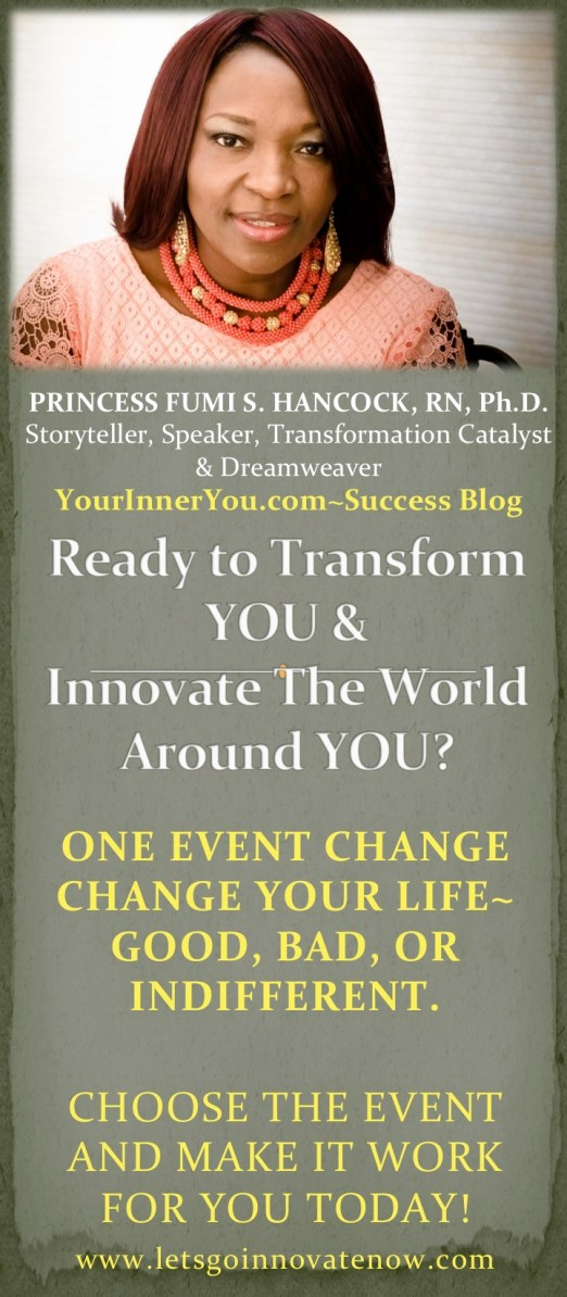 Ready to Transform and Innovate Your Life?