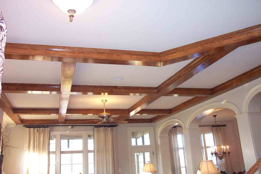 Beam Design Considerations Southern Woodcraft Ceiling Beams on a standard ceiling height