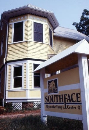 Southface's first property, a house on Moreland Ave.