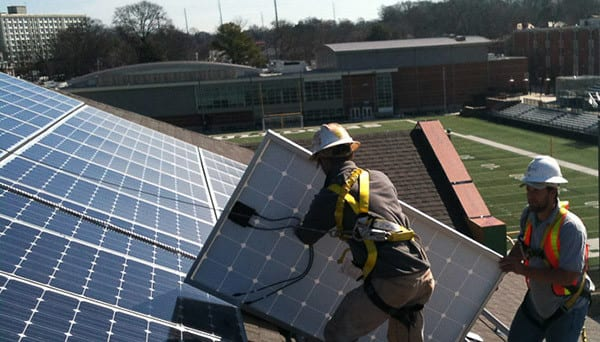 Solar Panels and Southern Houses