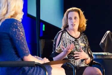 Katie Walls interviews Andrea Pinabell