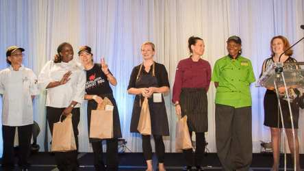 The all female, Visionary Dinner chefs